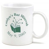 Mug Bar Mitzvah Favor