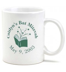 Mug Bar Mitzvah Favor