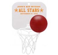 Basketball and Hoop Favor