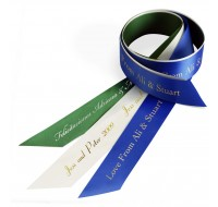Wide Personalized Ribbon