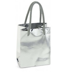 Silver Mini Favor Bag