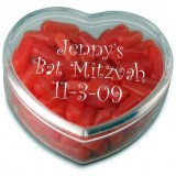 Heart Shaped Favor Container