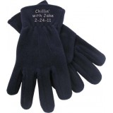 Embroidered Fleece Gloves Bar Mitzvah Favor