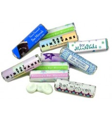 Mazel Mints Mint Roll Favor
