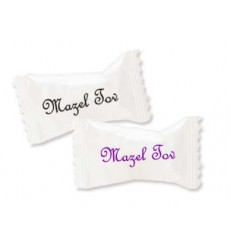 MAZEL TOV MINTS WHITE WRAPPERS