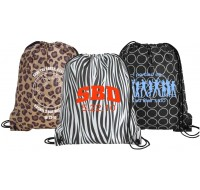 Safari Designer Drawstring Bag