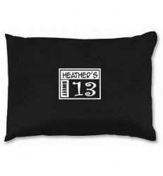 Black or White Travel Pillow and Favor