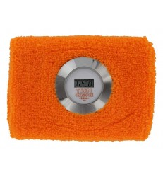 Digital Sweatband Watch w/ Silver Bezel Bar Mitzvah Favor