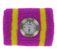 Sweatband Watch w/ Silver Beze Analog Bar Mitzvah Favor