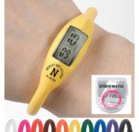 Water-Resistant Silicone Sports Watch