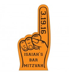 "7.5"" FOAM FINGER"