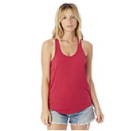 Alternative® Ladies' Shirttail Satin Jersey Tank