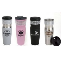 STAINLESS STEEL MUG - 16 OZ