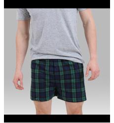 Unisex Essential Flannel Shorts