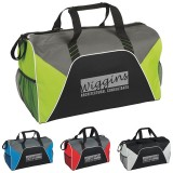 COLOR PANEL SPORT DUFFEL BAG