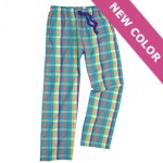 COOL COMFORT COTTON PRINT PANTS