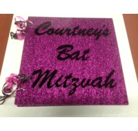 CUSTOM SIGN IN BOOK COURTNEY