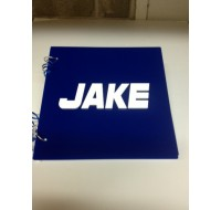 CUSTOM SIGN IN BOOK JAKE