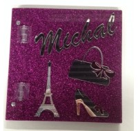 CUSTOM SIGN IN BOOK MICHAL