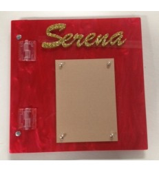 CUSTOM SIGN IN BOOK SERENA