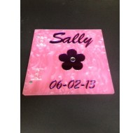 CUSTOM SIGN IN BOOK SALLY
