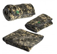 DIGITAL CAMO FLEECE BLANKET