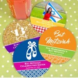 Round Paper Coaster Favors