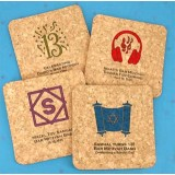 Square Cork Coaster Favors