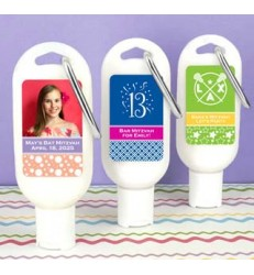 Sunscreen Carabiner Favors