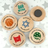 Wooden Magnet Favors