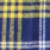 Navy and Gold Plaid