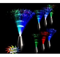 Light Up Fiber Optic Center Piece