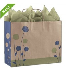 PAINTED POSIES SHOPPERS BAGS