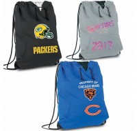 Jersey Cooler Sweatshirt Drawstring Backpack