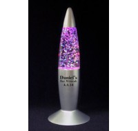 Glitter Lava Lamp Bar Mitzvah Favor