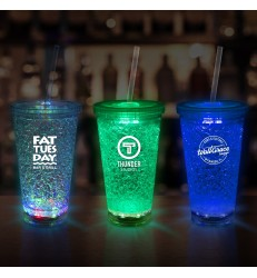 LED CRYSTAL TUMBLERS 16 OZ