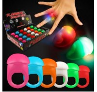 LED JELLY RINGS PARTY FAVORS