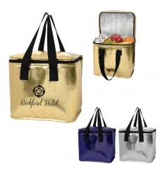METALLIC COOLER BAG