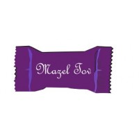 MAZEL TOV MINTS COLOR WRAPPERS