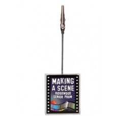 FILMSTRIP SHAPED NOTE HOLDER