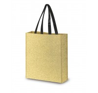 REUSABLE GLITTER TOTE BAG