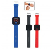 SQUARE UNISEX DIGITAL LED WATCH