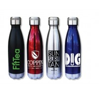 STAINLESS STEEL VACUUM INSULATED BOTTLE  16 OZ.