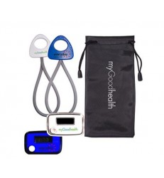 STRIDE PEDOMETER & STRETCH BAND IN A POUCH