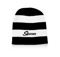 ACRYLIC KNIT PERSONALIZED STRIPED BEANIES
