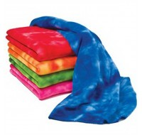 TIE DYE FLEECE BLANKET