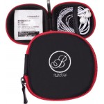 Tough Tech Pocket Pouch with Earbuds and Lens Wipe