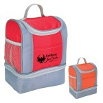TWO TONE INSULATED LUNCH BAG