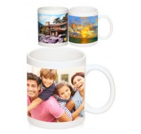 FULL COLOR GLOSSY PHOTO MUGS  11 OZ