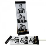 Photobooth Frame Three Piece Clip Frame 2 x 6 Favor